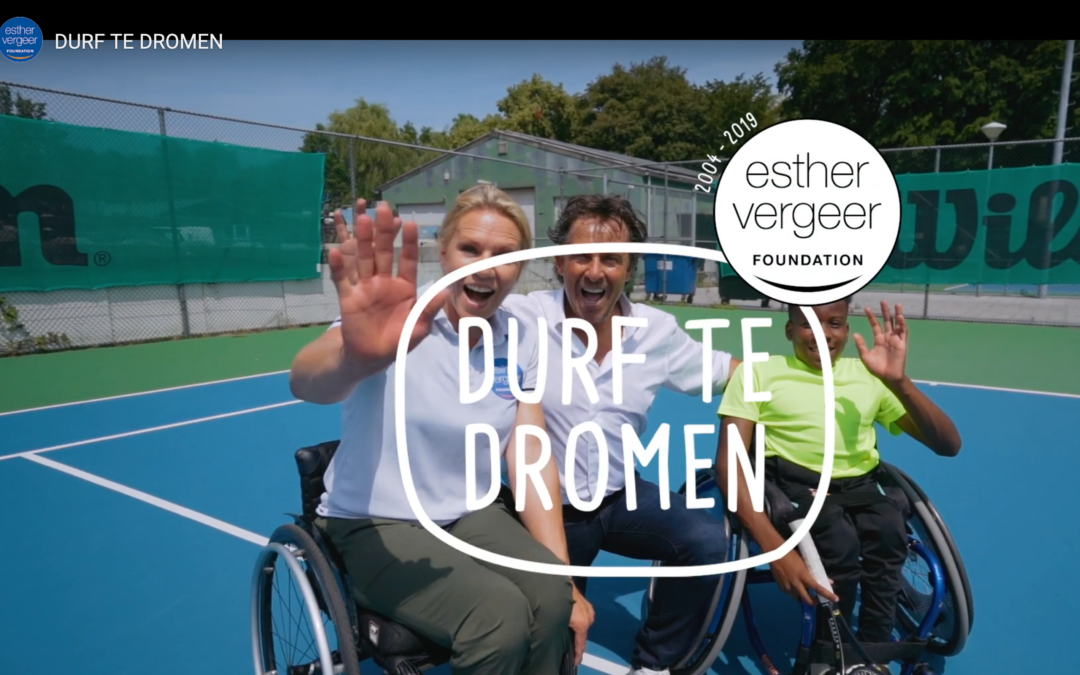 Steun Protinus IT voor Esther Vergeer Foundation